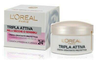 Migliore crema idratante viso: LOreal Triple Active Multiprotective