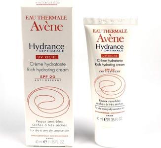 Migliore crema idratante viso: Luce UV Optimale Hydrance De Avene