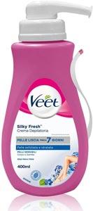 Migliore crema depilatoria: Veet