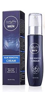 Migliore crema depilatoria uomo: Luckyfine